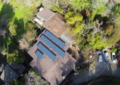 8.68kW roof mount solar Newcastle, CA