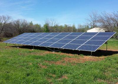 9.18kW ground mount solar Lincoln, CA