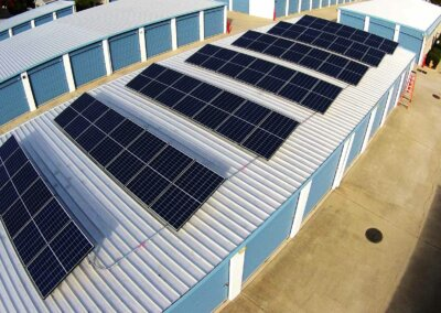 15.6kw Loomis Commercial Solar Installation