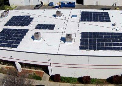 34kw Sacramento Commercial Solar Installation
