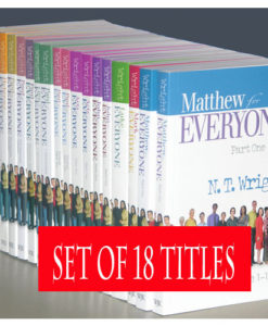 New Testament for Everyone Set: 18 Volume Set