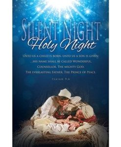 Christmas | Silent Night, Holy Night | Package of 100