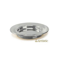 Silvertone Aluminum Bread Plate Stacking