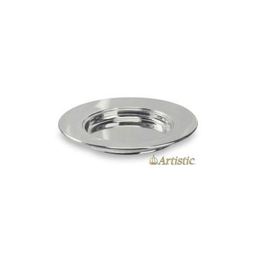 Silvertone Aluminum Bread Plate Non-stacking