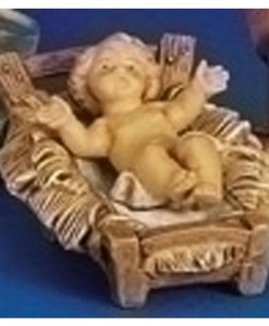 """Baby Jesus with Manager for Fontanini® 5"""" Nativity Classic Collection"""