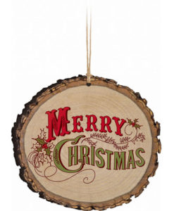 Barky Ornament Merry Christmas