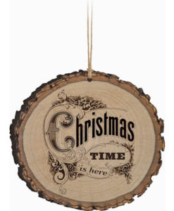 Barky Ornament Christmas Time