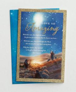 Roy Lessin - Love So Amazing | 18 Premium Boxed Christmas Cards, KJV