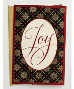 Joy | 18 Premium Christmas Boxed Cards