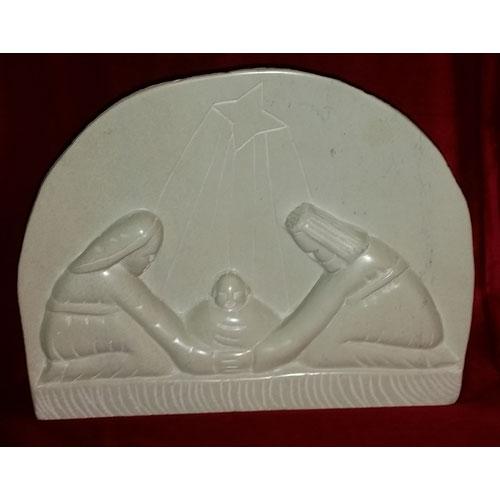 Nativity Dome Soapstone Sculpture