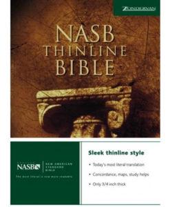 NASB - Thinline Bible   Hardcover