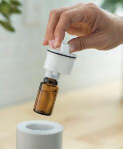 Waterless Essential Oil Diffuser Grey