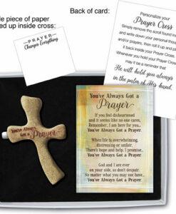 Palm Prayer Cross | You've Always Got A Prayer
