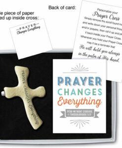 Palm Prayer Cross | Prayer Changes Everything