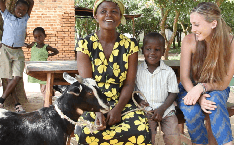 The Give A Goat Project For Ugandan Students