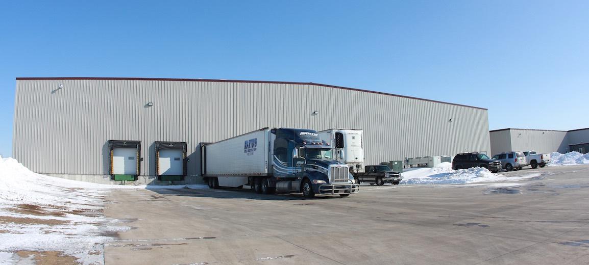 Dexter Warehouse Company Cold Storage Dover Minnesota