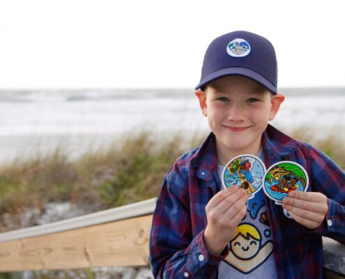 kids saving oceans