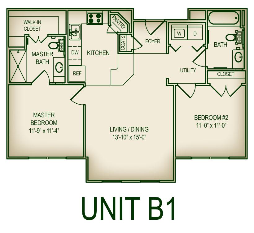 Floorplan B1