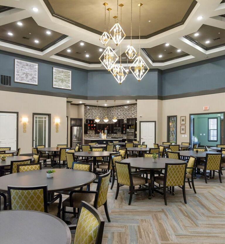 Evergreen Rowlett Dining Room