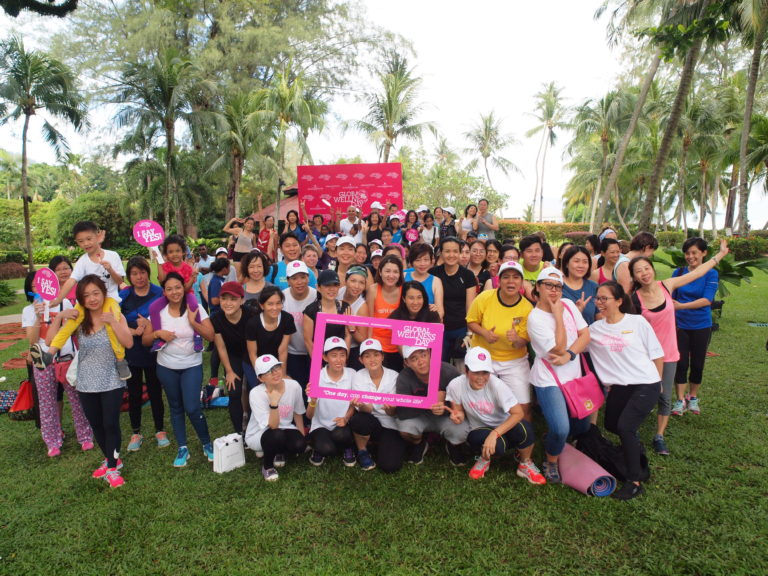 Shangri-La's Penang Resorts Celebrate Global Wellness Day 2019