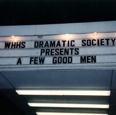 A Few Good Men - Westchester Hebrew H.S., Mamaroneck NY