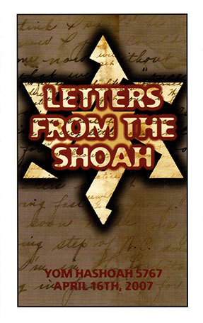 Letters From The Shoah