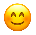 Grateful Smiling Emoji