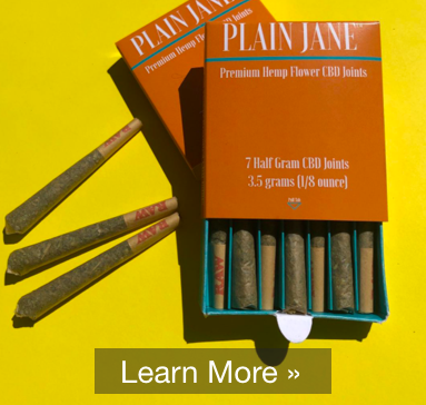 Eighth Pack CBD Pre-rolled Joints