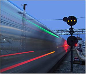 Transparent Train - Brian Butensky - B IOM