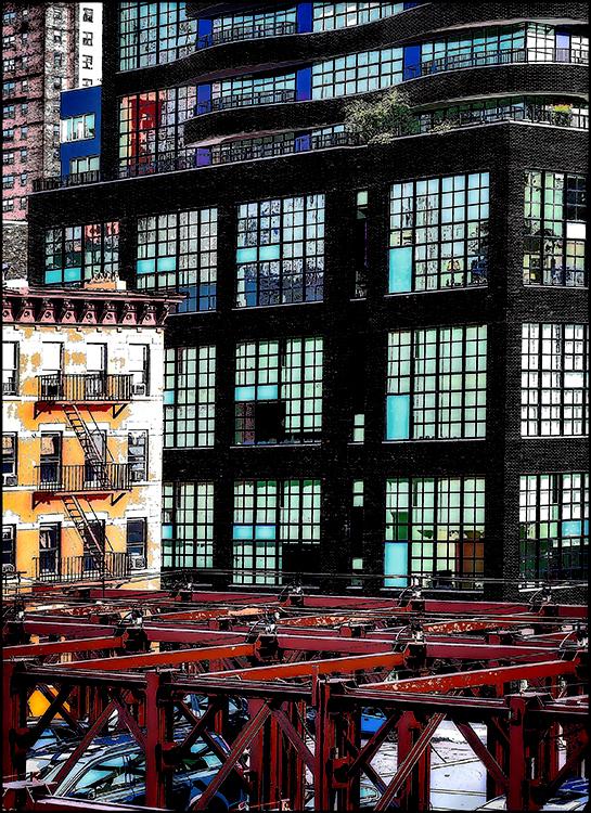 Ellen Gallagher - View From Highline Ceative IOM