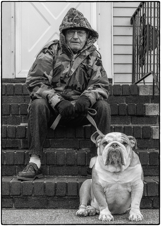 Henry Hernandez - The Kid & Grampa - B IOM BW