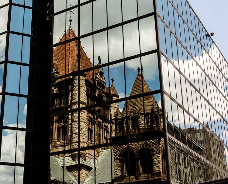 Pete Mirabella - Boston Reflection - B IOM