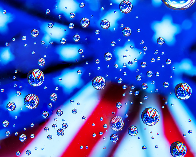 Bill Brown - Star Spangled Reflections - 1st Place B Group EOY