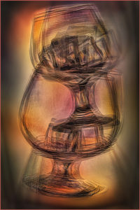 Valerie Interligi - Brandy Glasses Shaken Up - Creative IOM