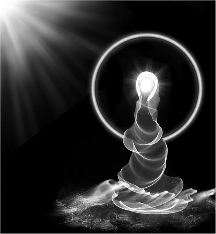 Paula Greco- Light Painting Friendly Spirits