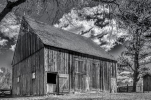 Vince Como - The Big Barn - B&W-B (IOM)