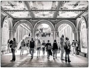 Helen Albano-Central Park-B&W A IOM