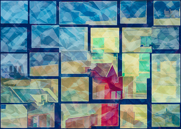 Creative-Ellen Gallagher-Colorful Building Abstract-10 (IOM)