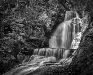 William Brown-B&W A-Dingmans Falls-9.5 (IOM)