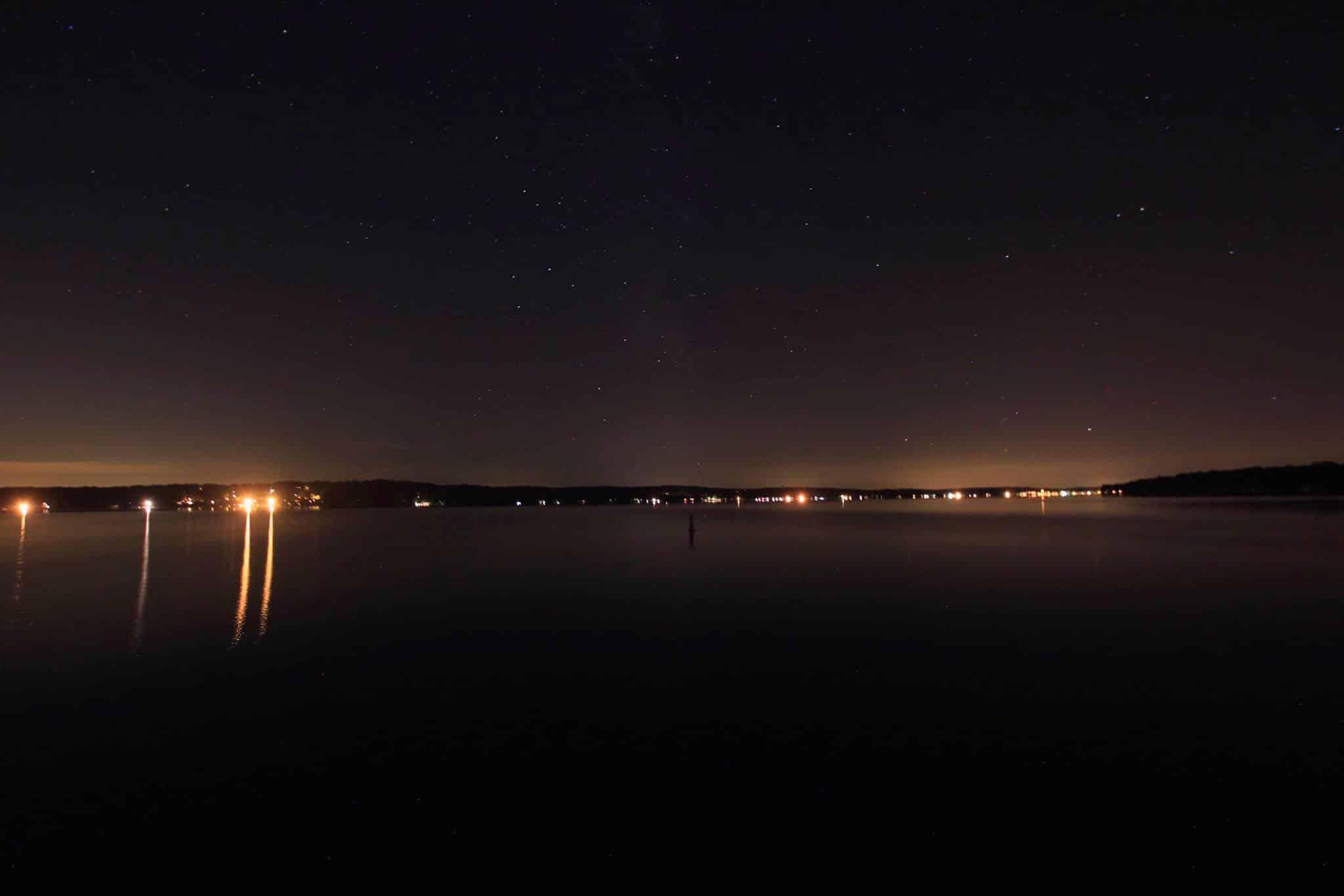 Geneva Lake Dark Sky