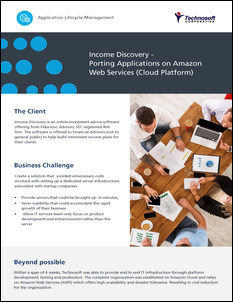 Income Discovery Cloud Enablement