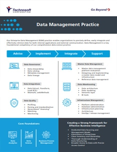 Data Management Practice