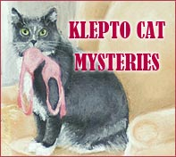 Klepto Cat Mysteries Logo