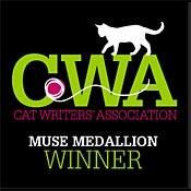 Cat Writers of America Muse Badge
