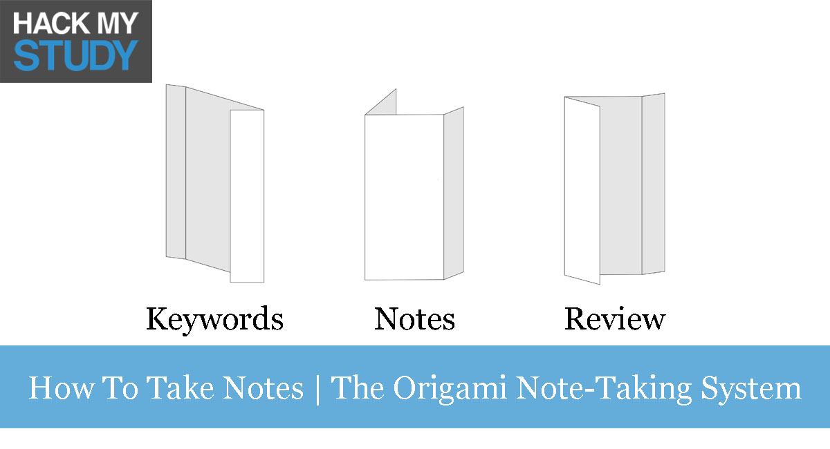 How To Take Notes In Class – The Origami Note-Taking System