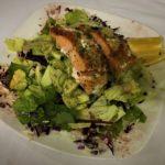 Pan-seared Salmon Salad