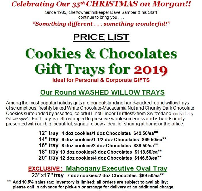 Cookie Tray Price List 2019 JPG