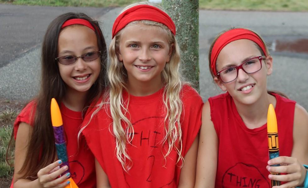 Cedarbrook Day Camp girls Rockets