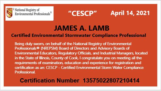 CESCP Certificate