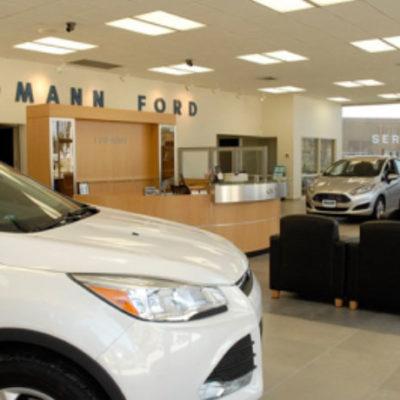 Volvo dealership showroom
